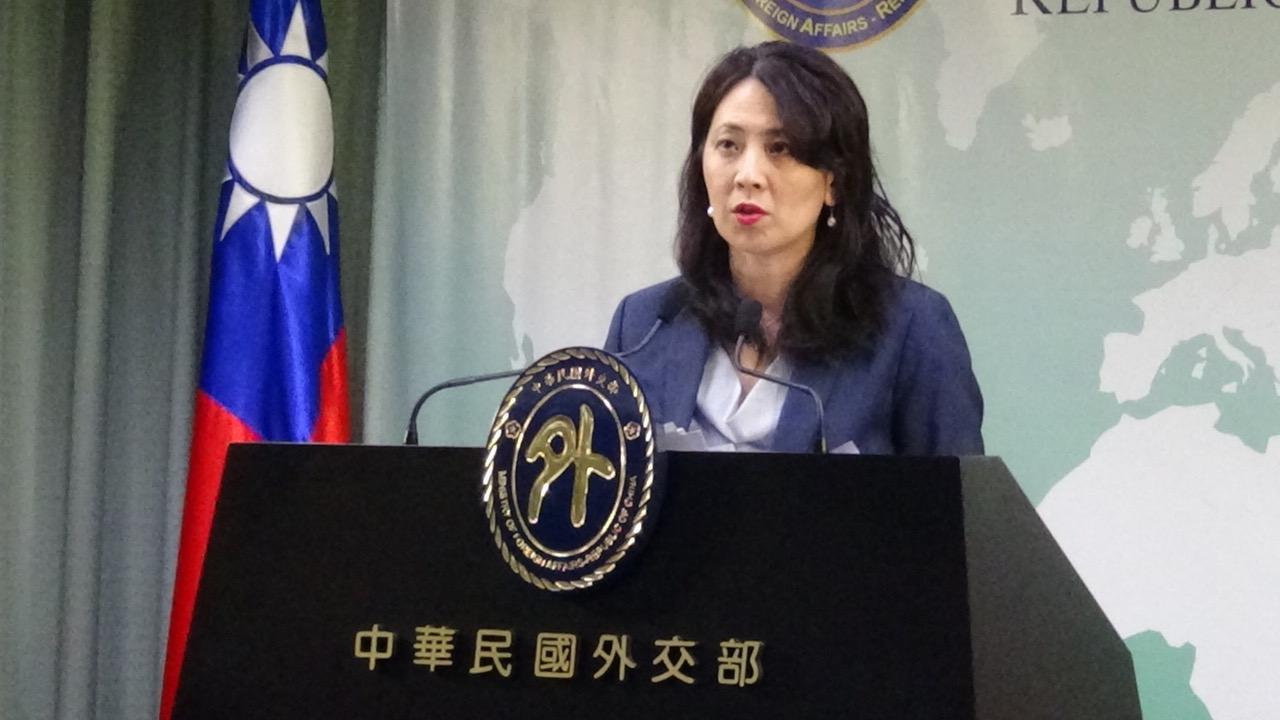 台湾外交部发言人欧江安。(资料照、记者夏小华摄)