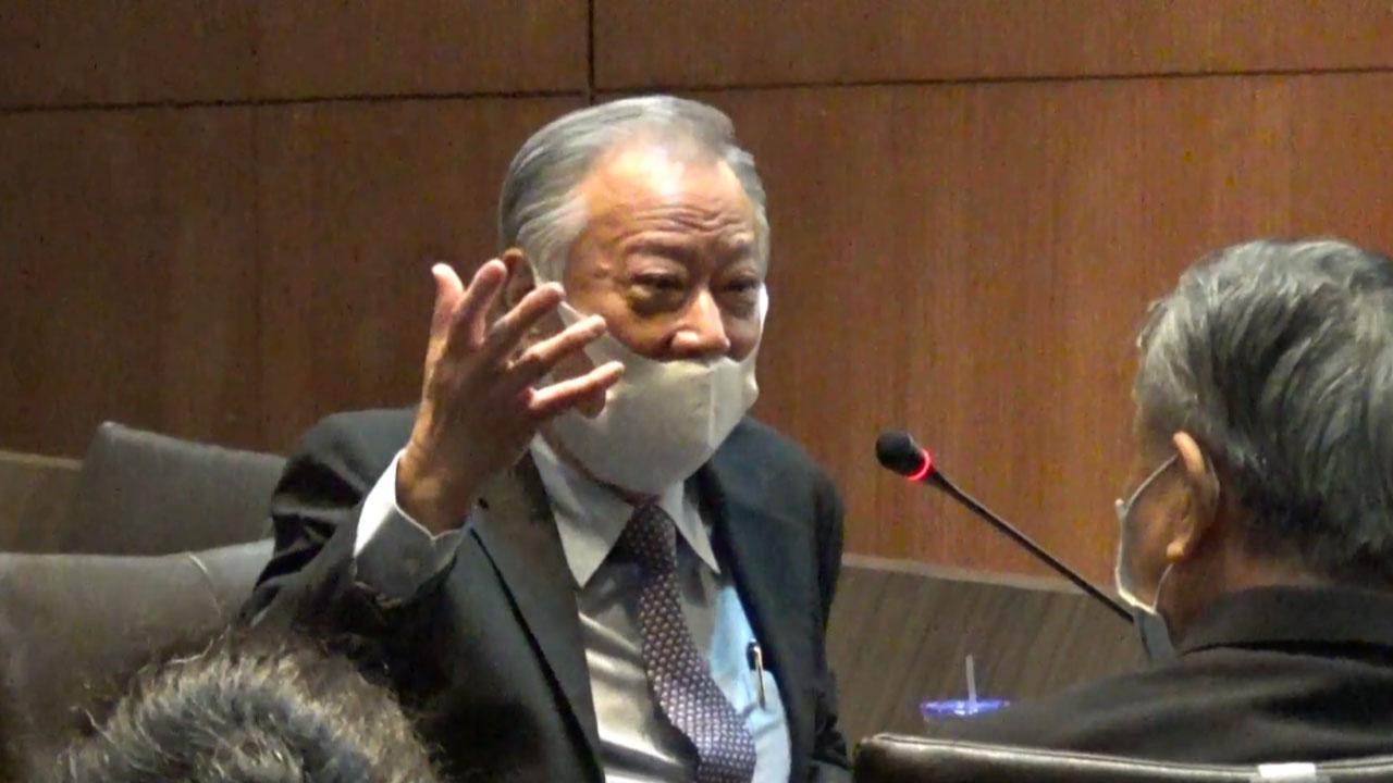 台湾印度经贸协会理事长欧晋德。(记者夏小华摄)