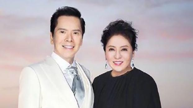 向华强和妻子陈岚。(向太陈岚微博)(photo:RFA)