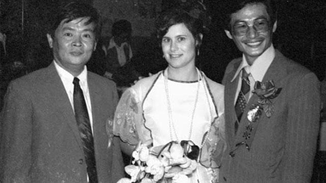 施明德與艾琳達政治婚姻的起源。(施明德文化基金會)
