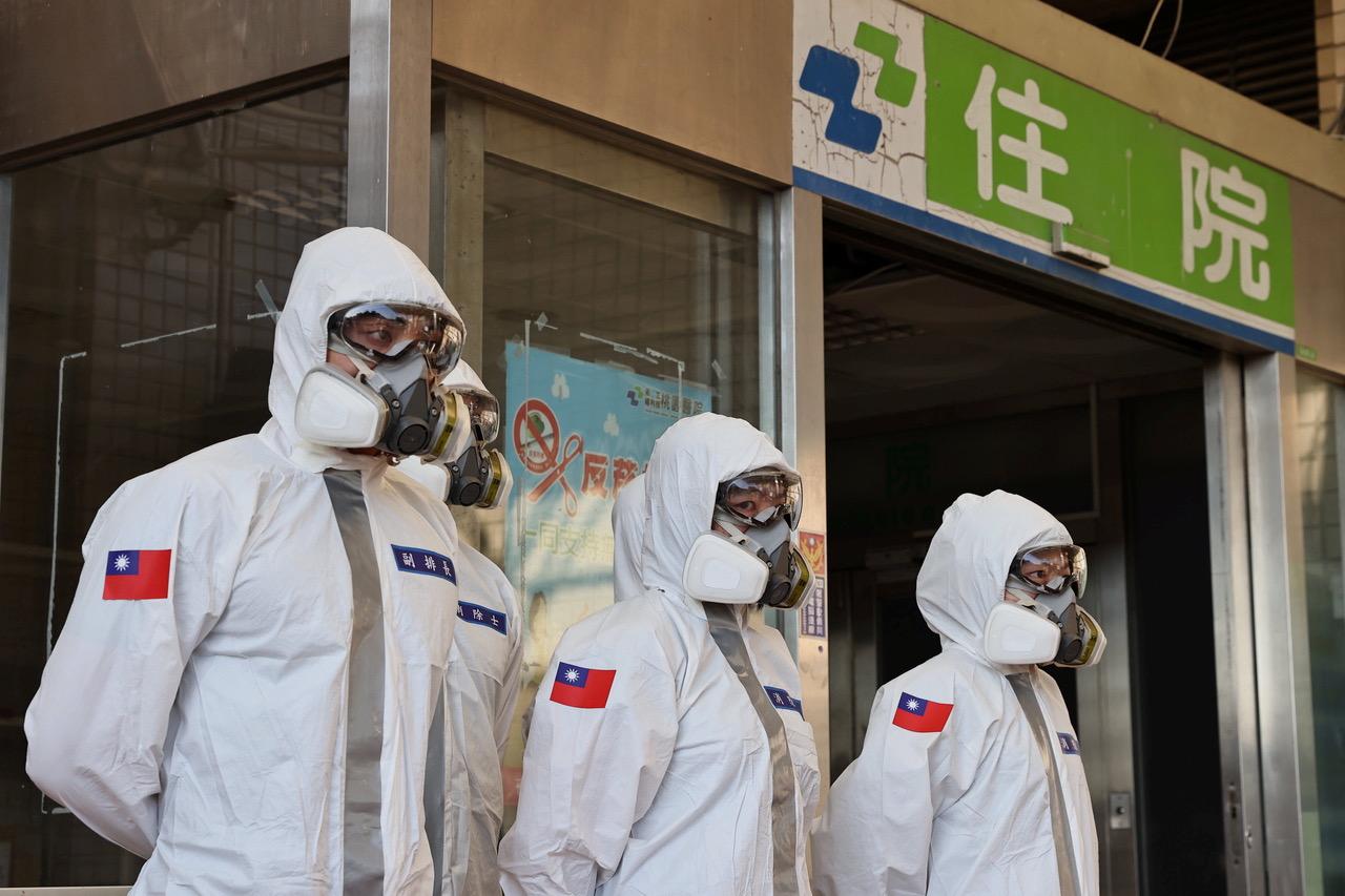 在新冠肺炎疫情肆虐全球下,台湾被公认为全球防疫模范生。(路透)
