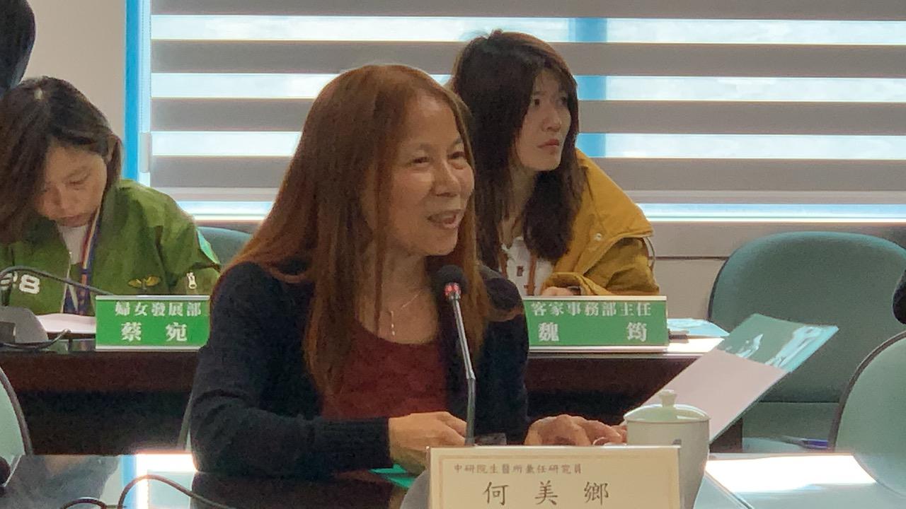 """台湾流行病防疫专家何美乡呼吁政府以及台湾人民""""千万别沉醉在台湾是防疫优等生""""。(资料照、记者夏小华摄)"""