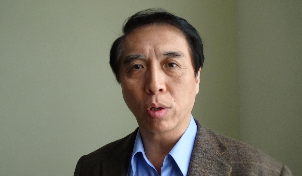 国民党立委陈学圣25号表示,台湾人不是被吓大的,韩国瑜见中联办主任不用怕。(记者夏小华摄)