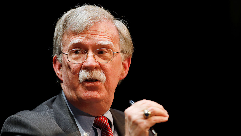 美国前白宫国安顾问约翰·博尔顿(John Bolton)公开推文呼吁美国重新考虑对台湾的外交承认。(路透社资料图片)