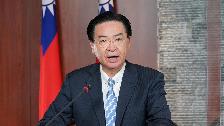 台湾外交部长吴钊燮。(财政部提供)