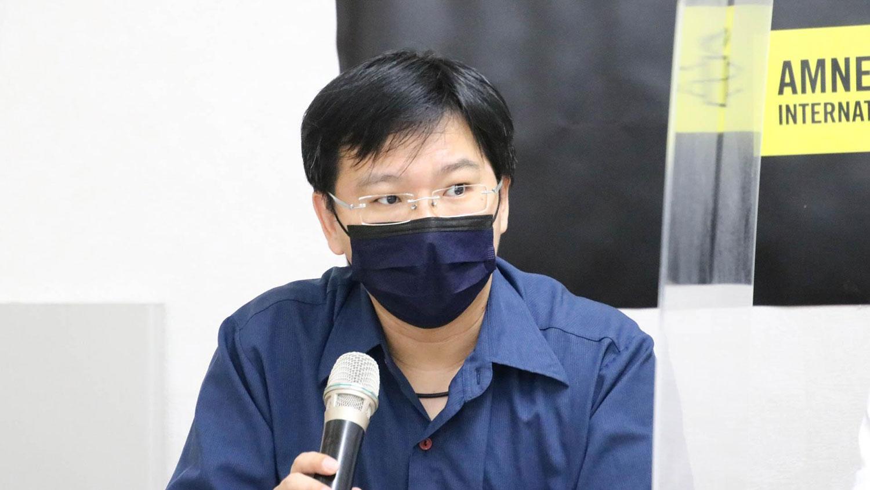 台湾人权促进会会长周宇修。(台湾人权促进会提供)