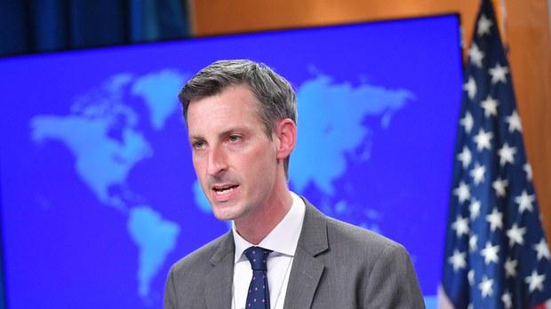 美國務院聲援離港臺官員和《蘋果日報》