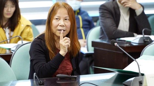 台湾知名流行病学专家、中央研究院生医所兼任研究员何美乡。(资料照、记者李宗翰摄)
