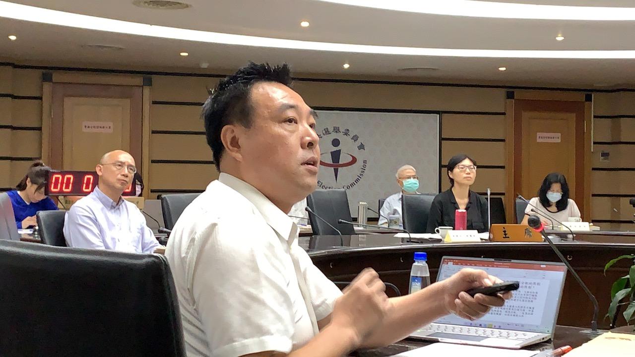 中选会14日召开台湾史上第一次制定新宪公投公听会。(记者夏小华摄)