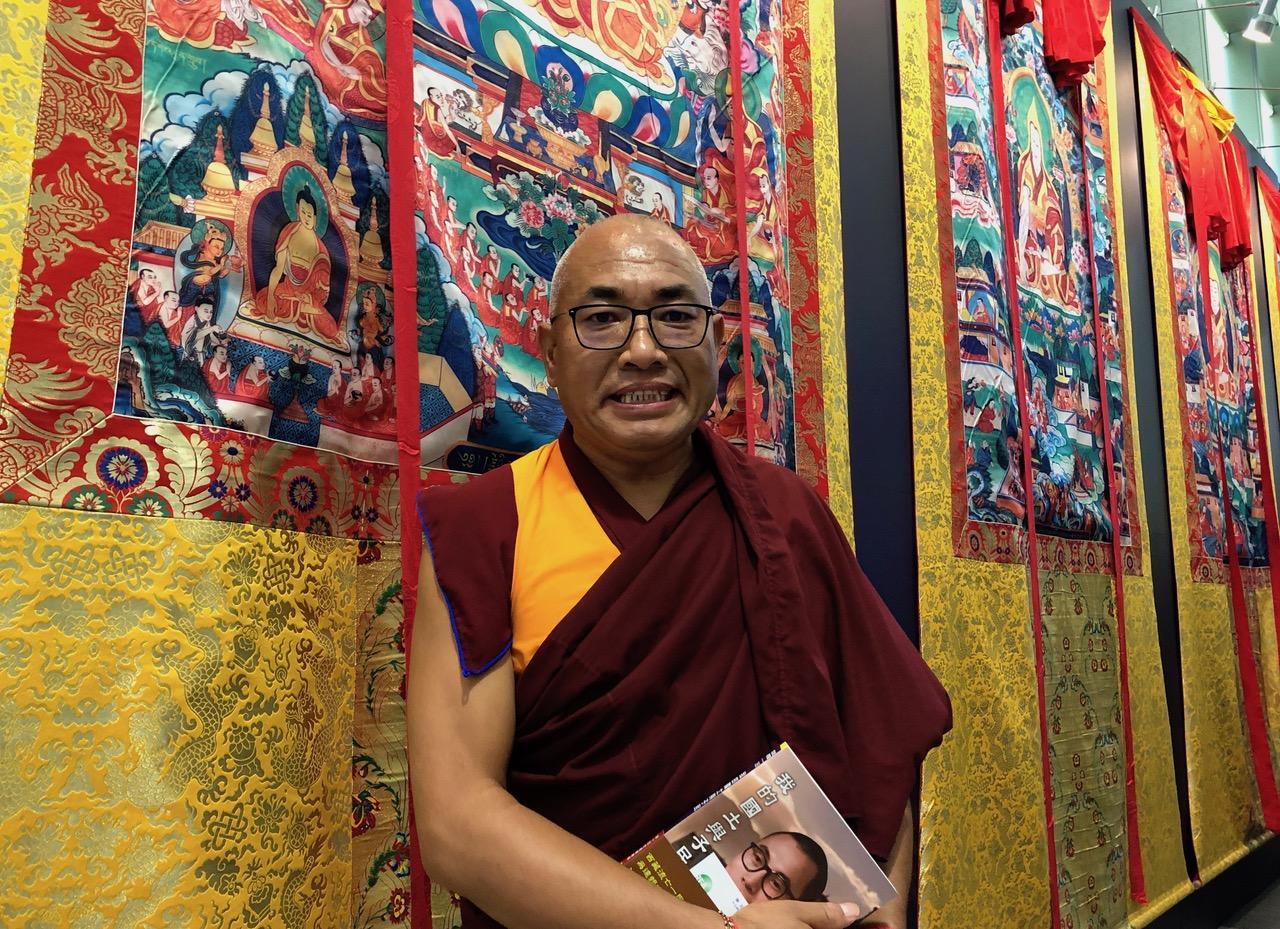 藏传佛教诺诺格西。(记者夏小华摄)