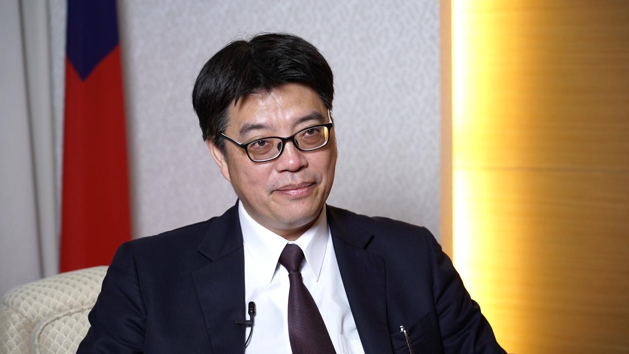 台湾陆委会发言人邱垂正。(RFA资料照)