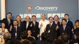 """图说:外交部与Discovery频道合作制播""""台湾无比精彩:医疗精英""""纪录片。(苗秋菊拍摄)"""