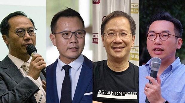 香港立法会前议员郭荣铿平安抵达加拿大