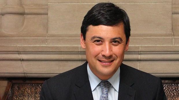 加拿大國會議員莊文浩(Michael Chong)在衆議院讚揚哈利法克斯論壇的決定,並恭喜蔡英文總統。(加拿大聯邦政府官網)
