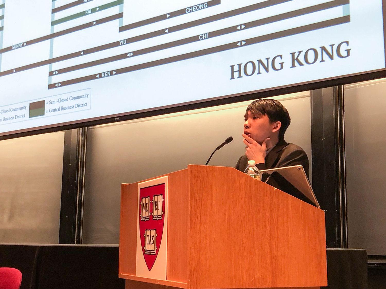 研究香港再回流和身份认同现象的黄智斌   (黃智斌提供)