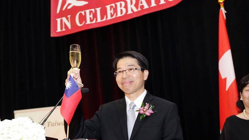 资料图片:驻加拿大台北经济文化办事处代表陈文仪 。(驻加拿大台北经济文化办事处提供)