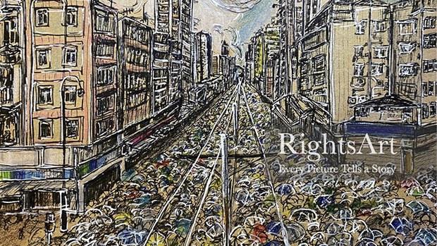 """专访""""维艺志""""美术品交易平台运营人:希望保存每位香港人的身份认同"""