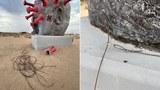 南加州自由雕塑公園遭襲 中共病毒雕像被破壞