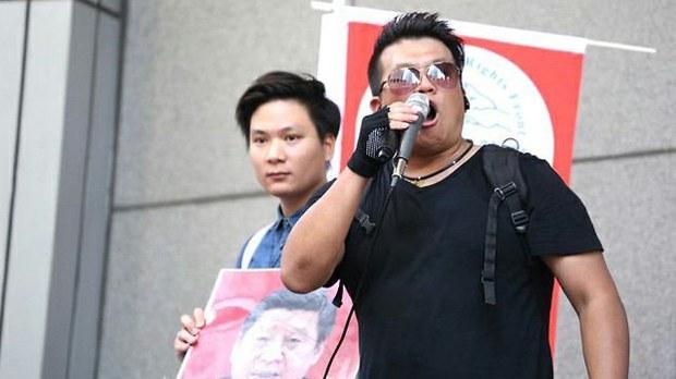 """被""""國安法""""通緝的港人陳家駒:流亡英國的香港年青人正面臨資金困難"""