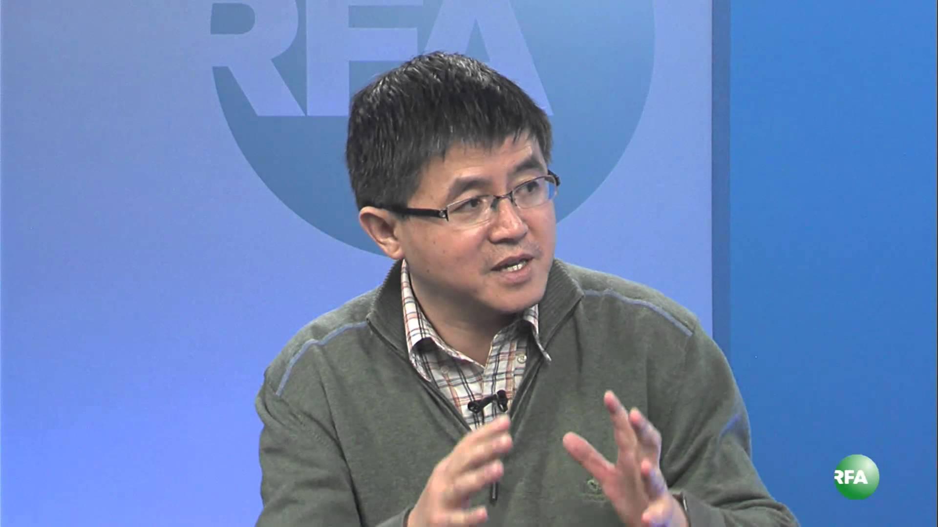图片:旅居美国的中国艾滋病防治教育专家万延海。(资料图片)