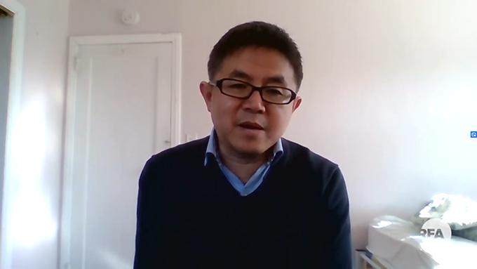 中国艾滋病防治教育专家万延海(视频截图)