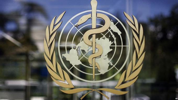 世界卫生组织标志(美联社)