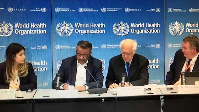 世界卫生组织(WHO)22日在日内瓦召开紧急会议,决定是否要宣告将此疫情定调为国际关注公卫紧急事件(PHEIC)。(反拍视频)