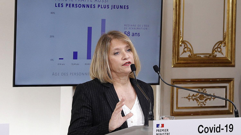法国圣昂图安医院(Saint-Antoine)感染疾病中心主任拉孔贝(Karine Lacombe)就医学质疑中国疫情数据造假表示,死亡人数被低估了。当我们看到意大利、西班牙和法国发生的疫情惨状,中国不可能只死3千多人而已,绝对不可能的。(路透社图片)
