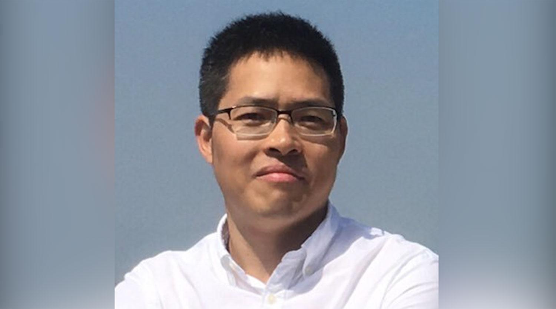 广州社会活动人士王爱忠。(推特图片)