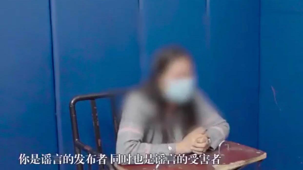 中国海南一女子在微信群呼吁网民买米被抓。(网络图片/乔龙提供)