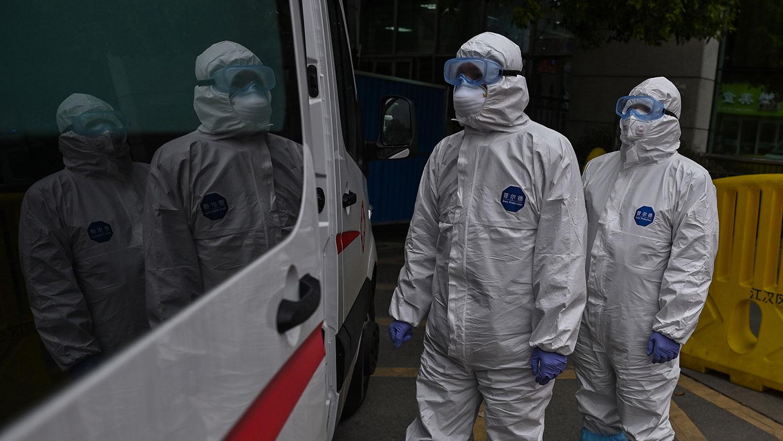 武汉市硚口区现确诊新冠肺炎形势紧张。(资料图/法新社)