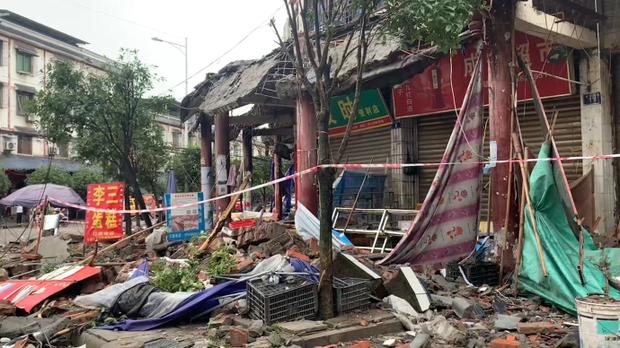 四川瀘縣六級地震三人死亡近百人受傷