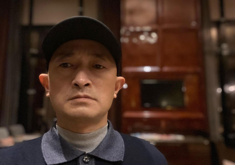 武汉疫情受害者家属张海(志愿者提供/记者乔龙)(photo:RFA)