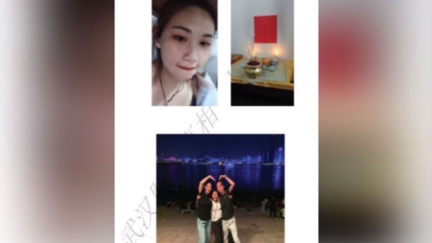 杨敏的女儿死于新冠肺炎。(网络截图/记者乔龙)