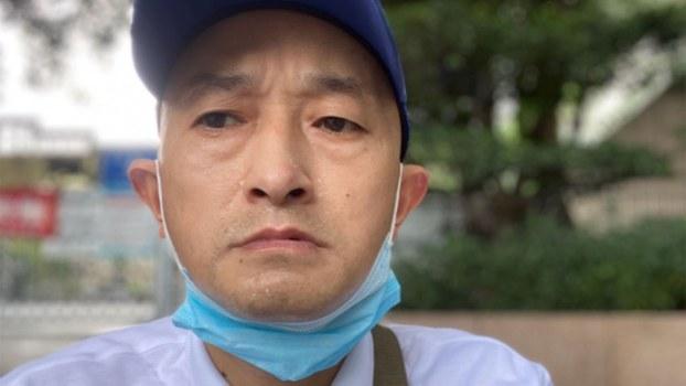 武汉肺炎受害者家属张海(张海独家提供)