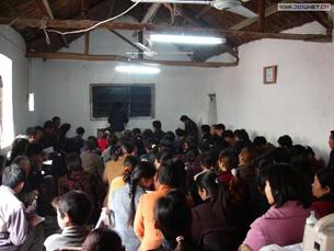 图片:中国基督教家庭教会的环境(基督网/乔龙提供)