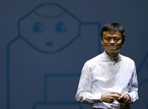 蚂蚁集团实际控制人马云曾公开表示中国的金融监管制度落后(路透社)(photo:RFA)