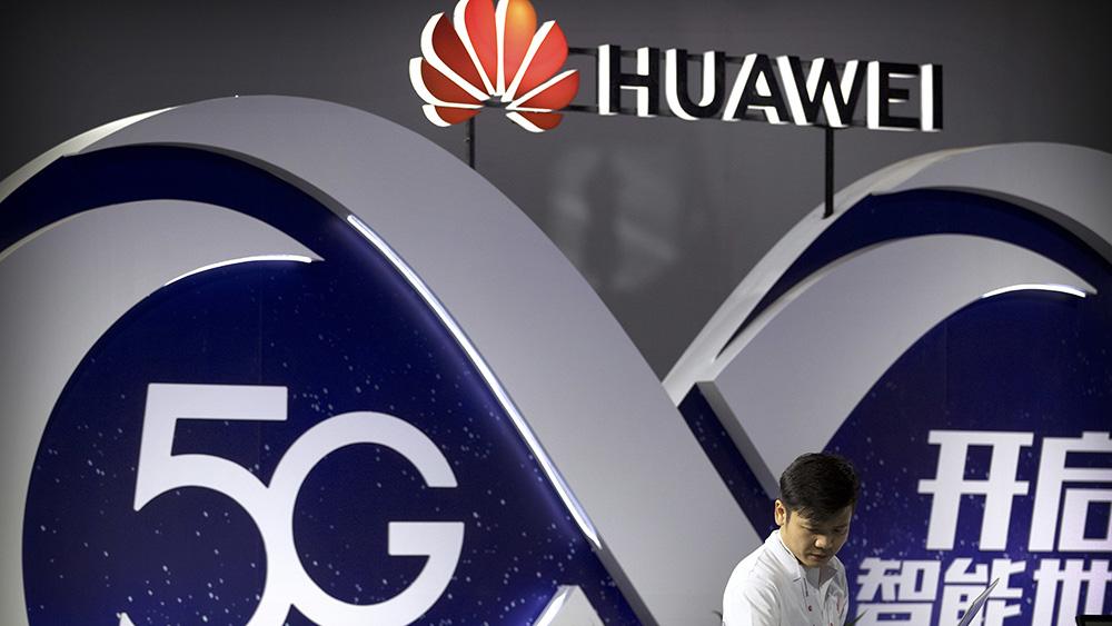 中国企业华为正在大力开发5G技术(美联社)