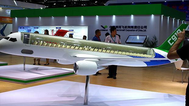 美国准备限制中国商用飞机公司等八十九家企业购买美国产品及技术(路透社资料图)