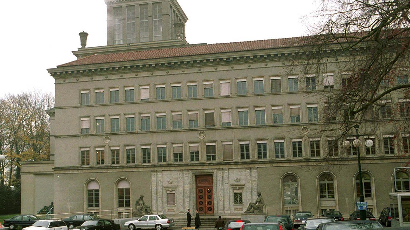 位于瑞士日内瓦的世界贸易组织(WTO)总部。(美联社)