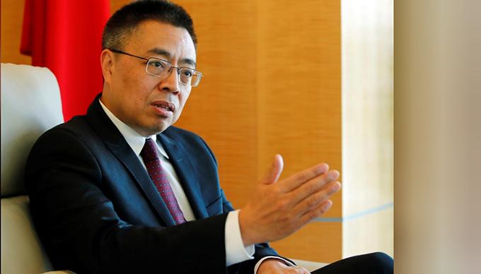 中国驻世界贸易组织大使兼常任代表张向晨(路透社)
