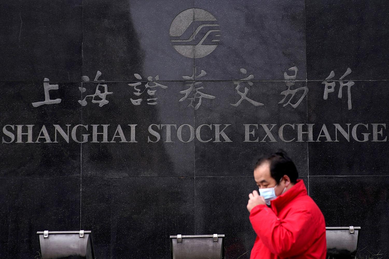 上海证券交易所。(路透社)