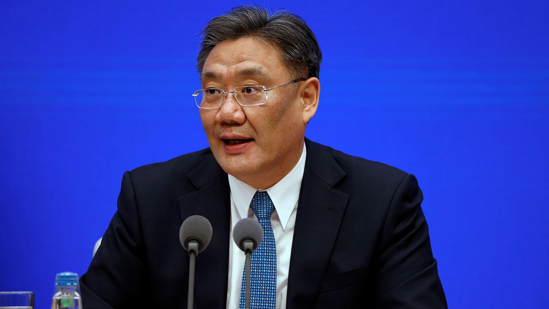 中國的商務部長王文濤(圖)向《全面與進步跨太平洋夥伴關係協定》(CPTPP)保存方新西蘭貿易與出口增長部長奧康納提交了中國正式申請加入CPTPP的書面信函。(路透社)