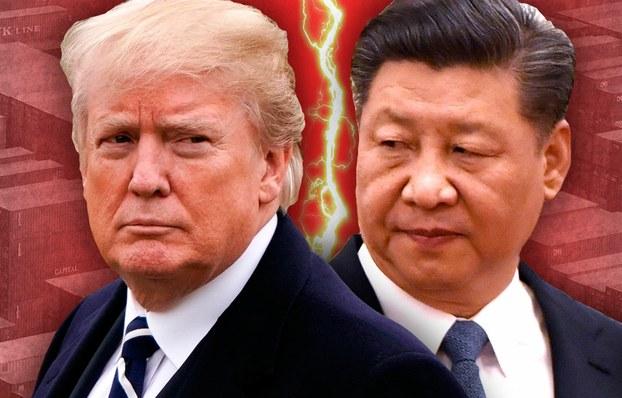 美国和中国的贸易战正在演变成为两个大国全面的战略对抗 (AFP)