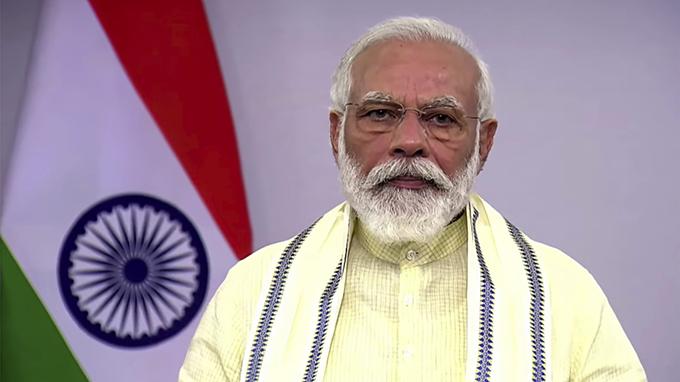 印度总理莫迪(Narendra Modi)(美联社)