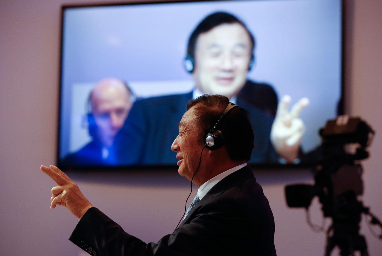 中国通讯设备巨头华为集团创办人任正非。(路透社)