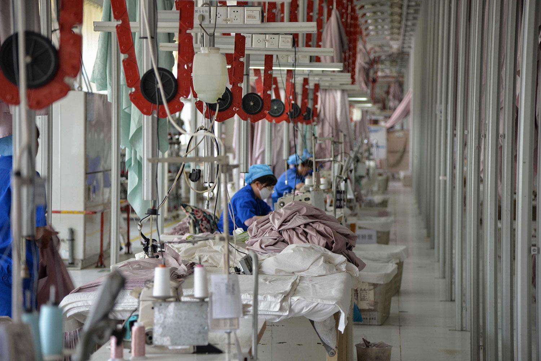 美国对华采取的新一轮关税,将重挫中国民企。(法新社)