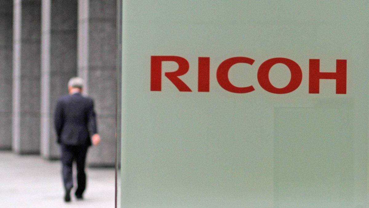 日本办公设备巨头企业理光(Ricoh)表示,正准备把中国的印表机生产线转移到泰国。(路透社)