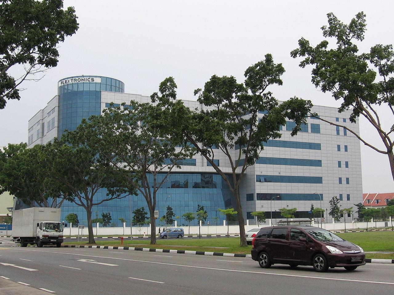伟创力新加坡总部。(图源:维基百科)