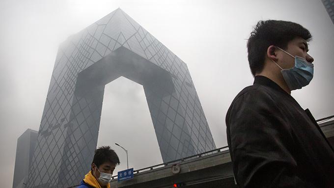 中国中央电视台大楼(美联社)